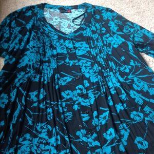 kate madison Tops - Kate Madison pleated blouse